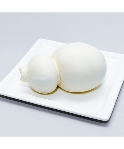 White scamorza cheese
